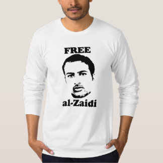 Free al-Zaidi men's fitted shir- Iraqi Journalist T-Shirt