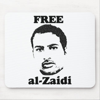 Free al-Zaidi Mousepad - Iraqi Journalist