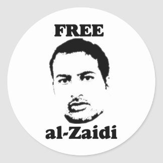 Free al-Zaidi Stickers