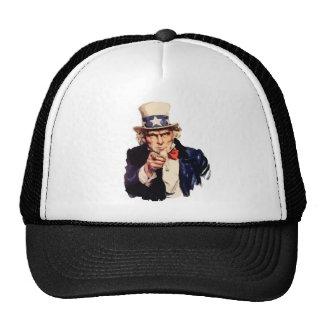 Free America Uncle Sam Trucker Hat