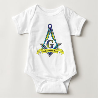 Free and Accepted Masons Baby Bodysuit