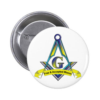 Free and Accepted Masons Pinback Button