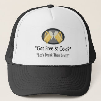 Free and Cold Beer Logo Hat
