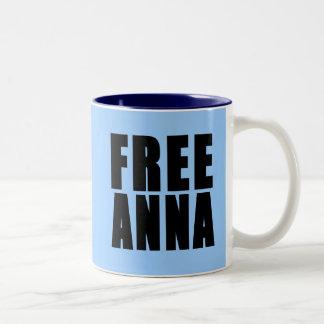 FREE Anna Two-Tone Coffee Mug