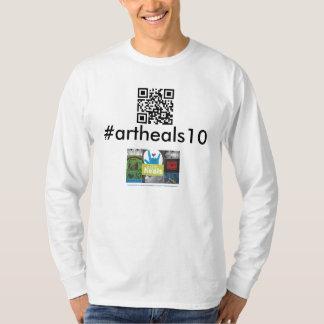 Free Arts Minnesota Annual Fundraiser #artheals10 T-Shirt