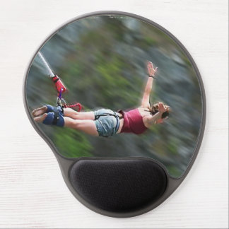 Free as a Bird Bungee Jumping Gel Mouse Pad