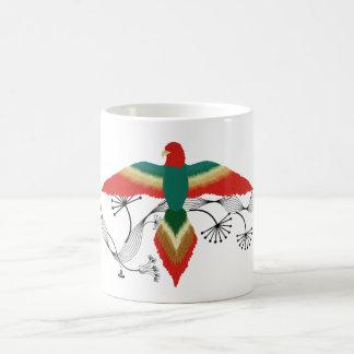 free as a bird classic white coffee mug