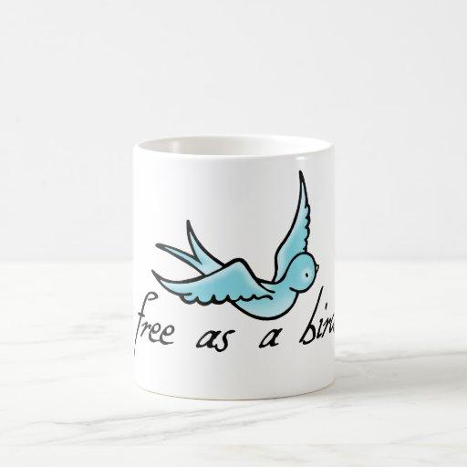 Free as a Bird Mugs