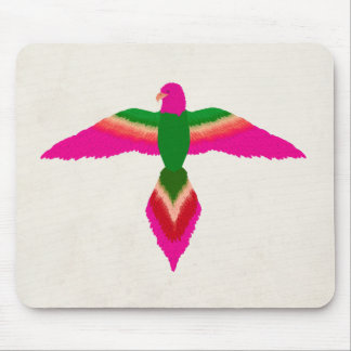 free as a bird pink mouse pad