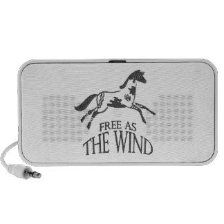 Free as the Wind iPod Speakers
