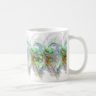 Free Association Thoughts Design on Mug