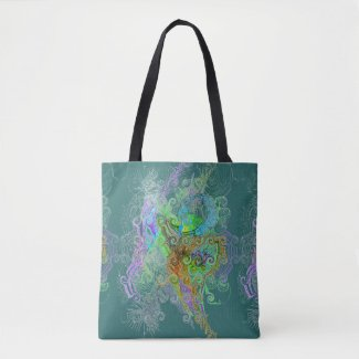 Free Association Type of Design on Tote Bag