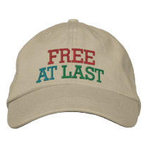 Free at Last ! Cap by SRF