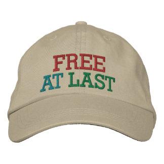 Free at Last ! Cap by SRF