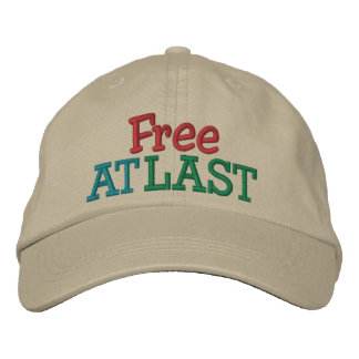Free at Last ! Cap by SRF Embroidered Baseball Caps