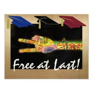 Free at Last - Grad Party - SRF Card