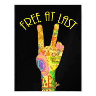 Free At Last Party Card