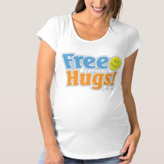 Free Awesome Hugs! Maternity T-Shirt