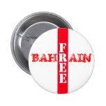 Free Bahrain Button Red