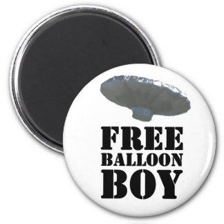 Free Balloon Boy Refrigerator Magnet