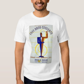 Free Band Concerts 1941 WPA T-Shirt