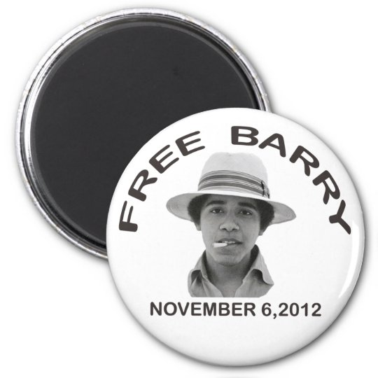 FREE BARRY Magnet