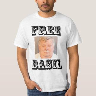 Free Basil B&W T-Shirt