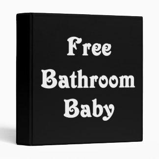 Free Bathroom Baby 3 Ring Binder