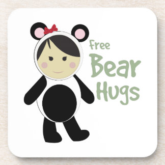 Free Bear Hugs Coasters