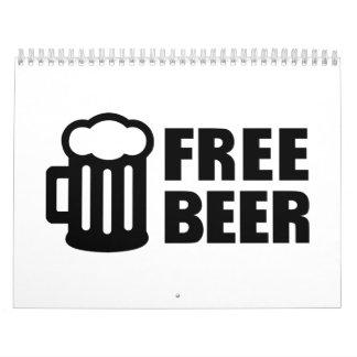 Free Beer Calendar