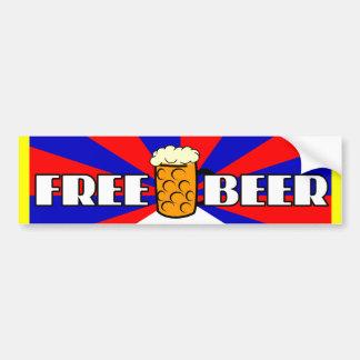 Free Beer Car Bumper Sticker