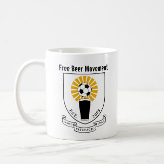 Free Beer Movement, I'd Rather Be Drinking Beer... Coffee Mug