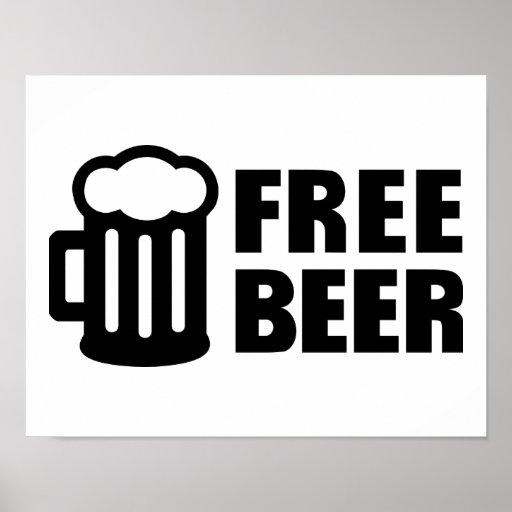 Free Beer Print