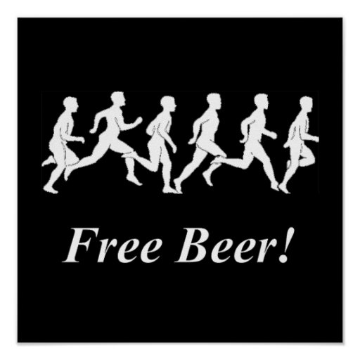 Free Beer! Print