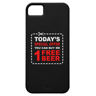 Free Beer Special Offer Coupon iPhone SE/5/5s Case