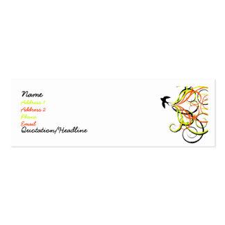 free bird business card template