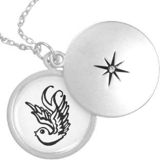 Free Bird Locket Necklace