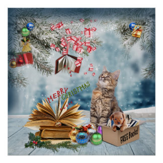 Free Books for Christmas Poster