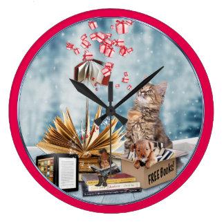 Free Books Large Clock