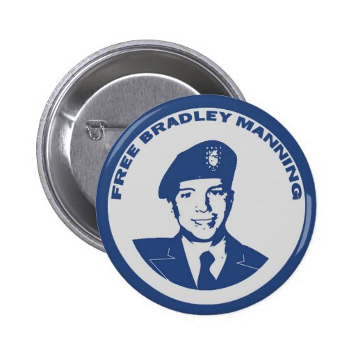 FREE Bradley Manning Pins