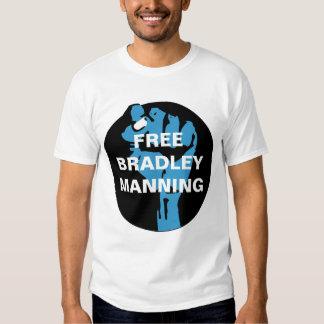 FREE BRADLEY MANNING TEE SHIRT