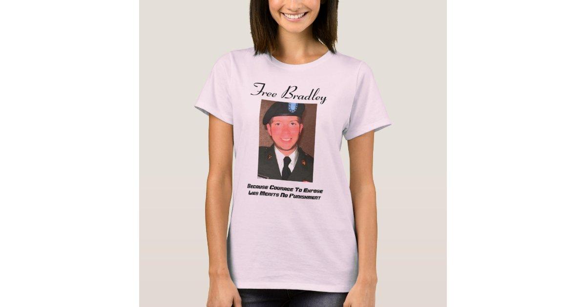 Free Bradley Womens Form Fitting T T Shirt Zazzle