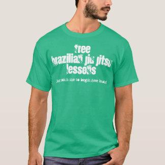 Free Brazilian Jiu Jitsu lessons T T-Shirt
