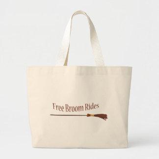 free broom rides tote bags