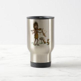 Free Bunny Rides - Caveman Mug