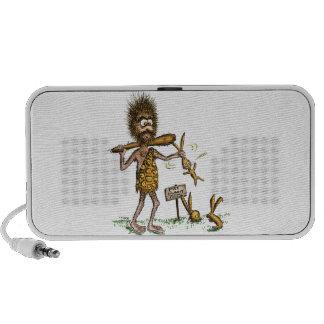Free Bunny Rides - Caveman iPhone Speaker