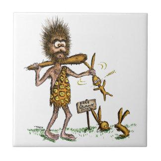 Free Bunny Rides - Caveman Tile