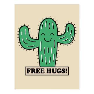 Free Cactus Hugs postcard