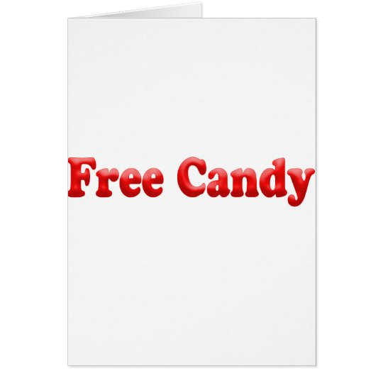 Free Candy Card