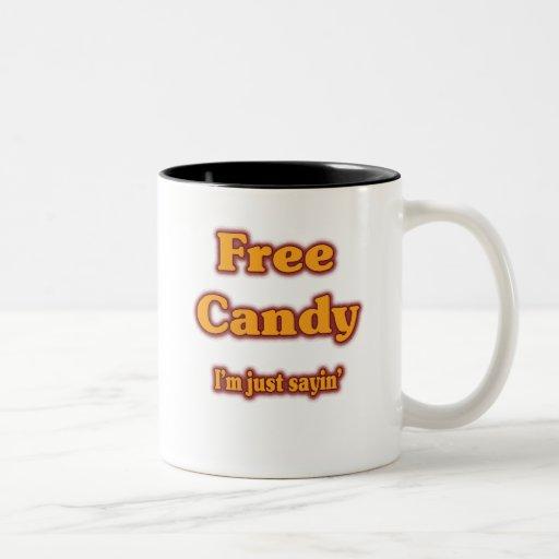 Free Candy Two-Tone Coffee Mug